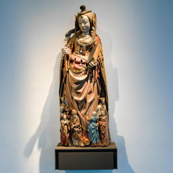 Meester van de Utrechtse Stenen Vrouwenkop - Heilige Ursula en Reisgenoten - circa 1530