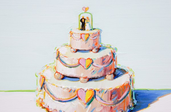 Wayne Thiebaud - Bakery Case - 1996 (detail)