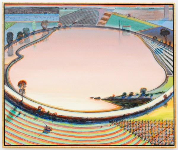 Wayne Thiebaud - Reservoir - 1999