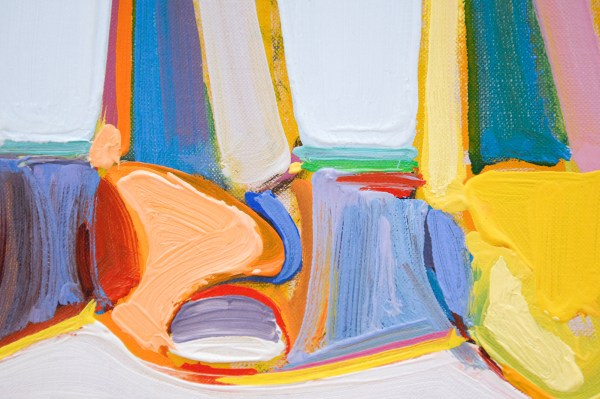 Wayne Thiebaud - Shoe Rows - 1975 (detail)