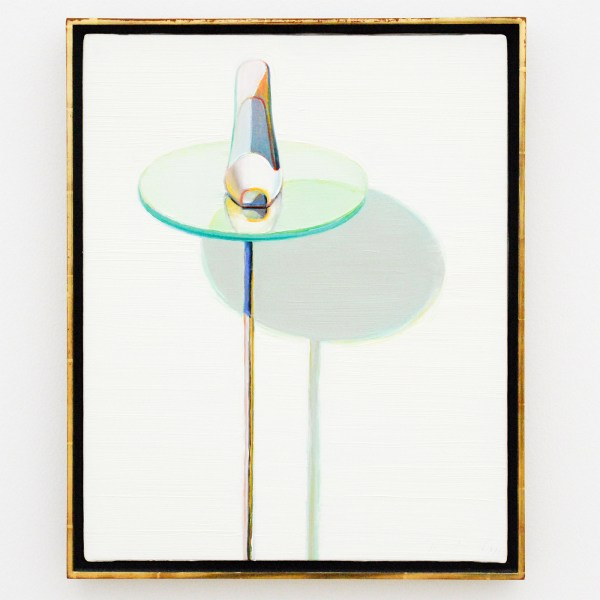 Wayne Thiebaud - White Shoe - 1995