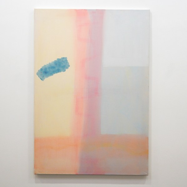 Paul Drissen - The Present, Present, Present - 130x90cm Gouache en dispersie op canvas