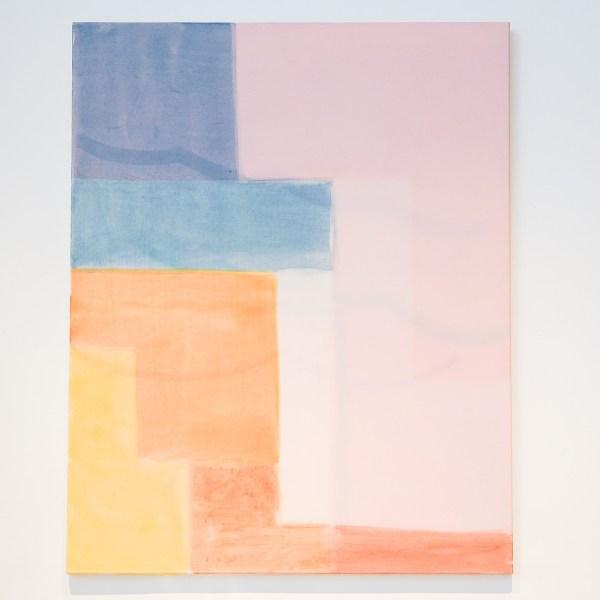 Paul Drissen - Untitled - 100x80cm Gouache en dispersie op canvas