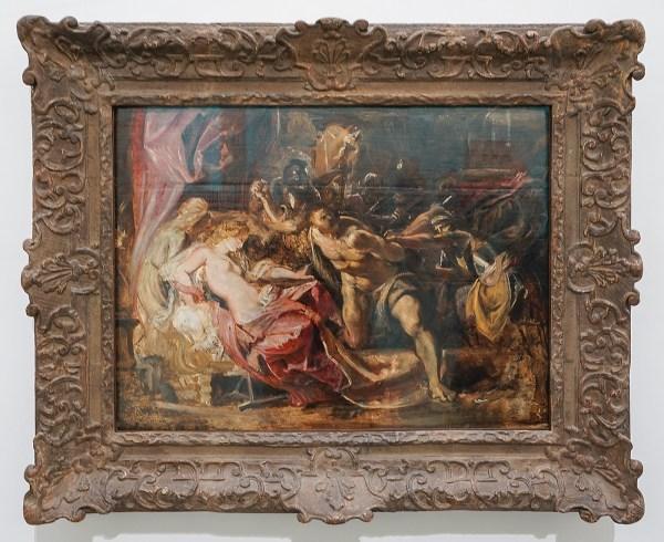 Peter Paul Rubens - De gevangenneming van Simson - Olieverf op paneel, 1609-1610