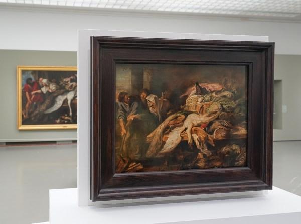 Peter Paul Rubens - De herkenning van Philopoemen - Olieverf op paneel, 1609-1610 (zicht naar het grote werk)