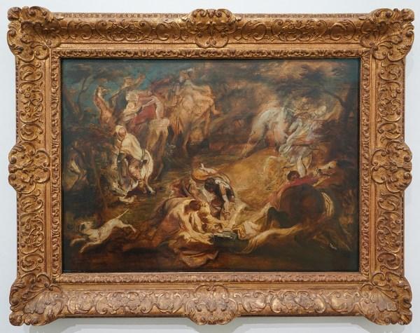 Peter Paul Rubens - De bekering van Paulus - Olieverf op paneel, 1614