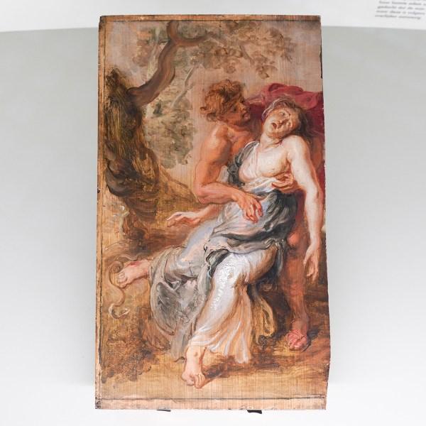 Peter Paul Rubens - De dood van Eurydice - Olieverf op paneel, 1636
