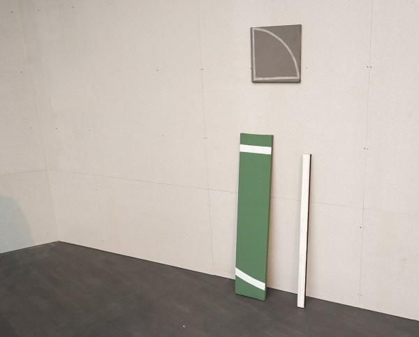 Raoul de Keyser - Kant Gampelaere - Acrylverf, krijt en olieverf op doek, 1973, 1976 & 1985