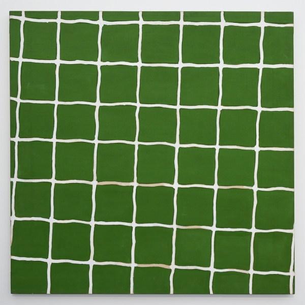 Raoul de Keyser - Netwerk III - Acrylverf op doek, 1972
