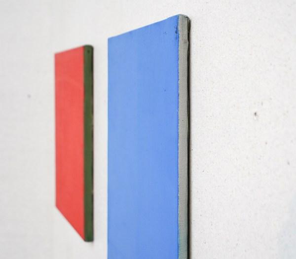Raoul de Keyser - Untitled & Untitled - Olieverf op doek, 1973, 1982 & 1971, 1982 (detail)