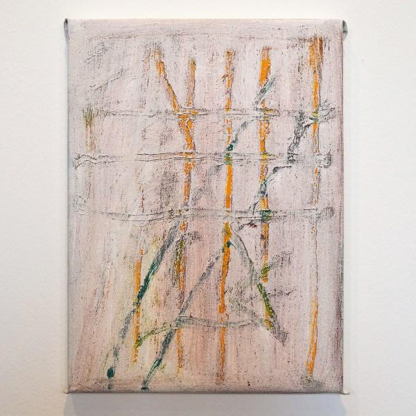 Raoul de Keyser - Overflow - Olieverf en gesso op doek op hout, 2011