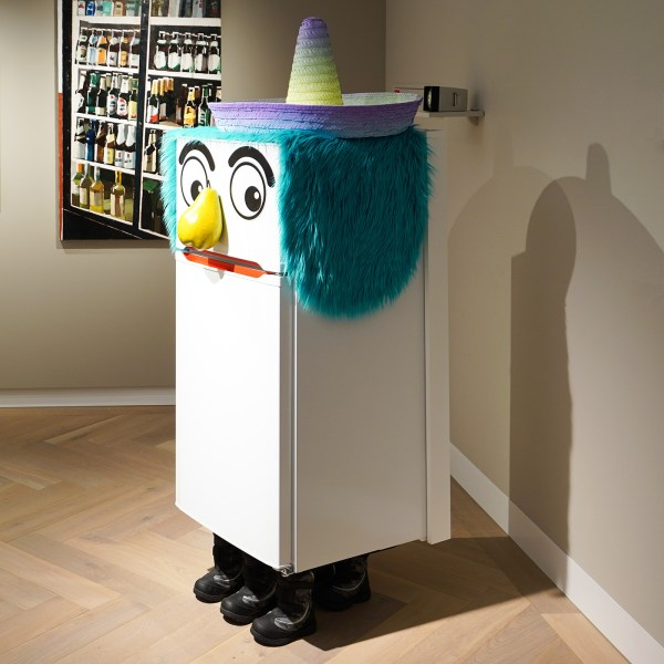 Rob Pruit - Refrigerator - Mixed Media