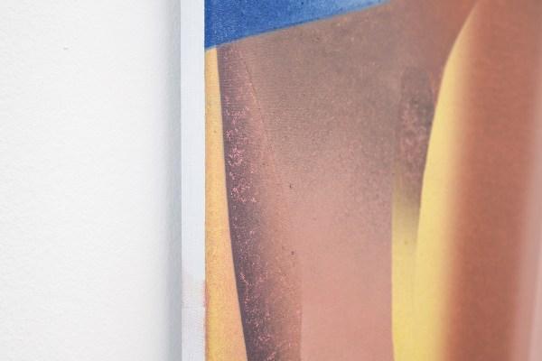 Hadassah Emmerich - Futurist Females - 105x145cm Olieverf op doek (detail)