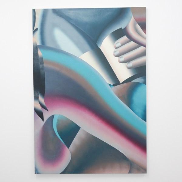 Hadassah Emmerich - Nude Reading Group I - 183x124cm Olieverf en drukinkt op doek