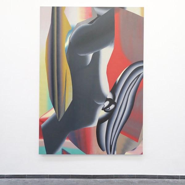 Hadassah Emmerich - Nuit Americaine - 270x190cm Olieverf en drukinkt op doek