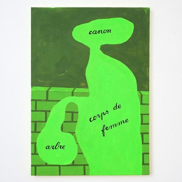 Dieter Durinck - Revisgionism (Rene Magritte, l'Usage de la Parole, 1927-1929) - 70x50cm Olieverf op canvas