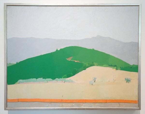 Euan Uglow - Italian Landscape - Olieverf op doek, 1972