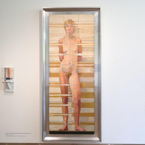Euan Uglow - Nude from Twelve Regular Vertical Positions from the Eye - Olieverf op doek, 1967