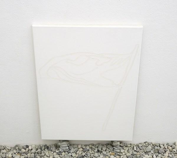 Tom van Veen - Right Reason - Gesso op canvas