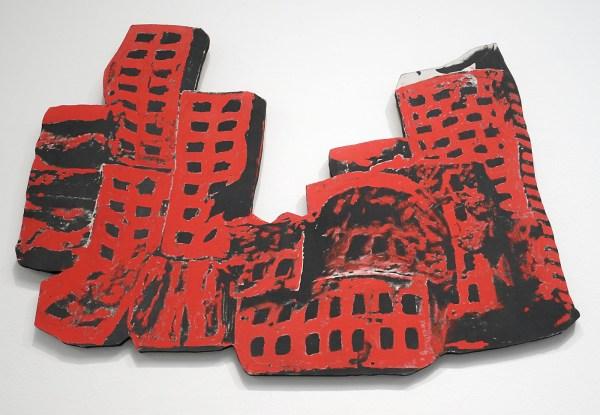 Marcel Broodthaers - Briques rouges - Fotografisch doek