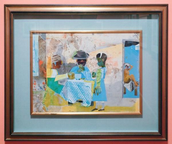Romare Bearden - Carolina Sunrise - 64x76cm, Schilderij, zonder jaartal