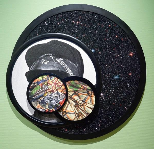 Todd Gray - Dark Matter - 170x165cm, Archief pigment adruk, 2015