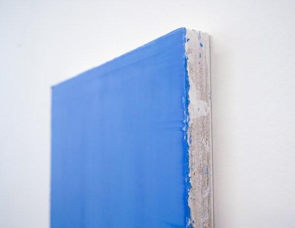 Willy de Sauter - Zonder Titel - 45x34cm Pigment en krijt op hout, 2020 (detail)