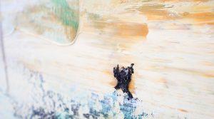 Ronald Zuurmond - In Between - 90x100cm Olieverf op canvas (detail)