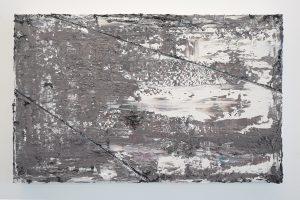 Ronald Zuurmond - Vloer - 28x45cm Olieverf op canvas