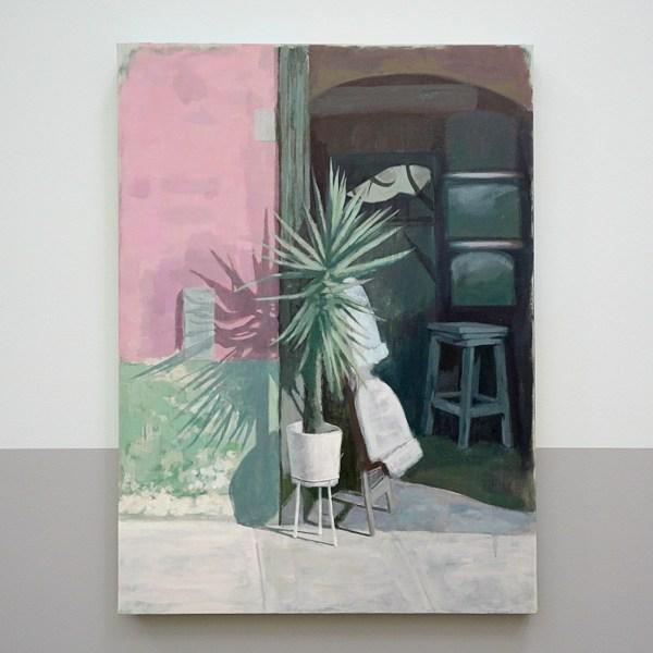 Arturo Kameya - The Desert Gardeners (uit de serie Desert Plants) - Acrylverf en kleipoeder op doek