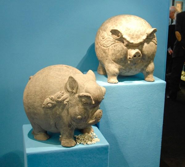 Aalderink Kunsthandel - Spaarvarkens, Java 1293-1478