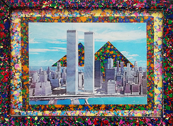 Adrianne Wortzel - Twing Towers, Twin Peaks - Collage (1981)