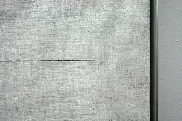 Agnes Martin - Untitled 1 - (detail)