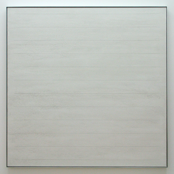 Agnes Martin - Untitled 1