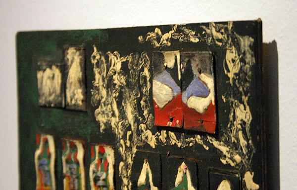 Alex Elshocht - Zonder Titel - Diverse materialen (detail)
