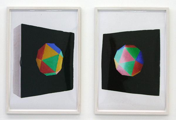 Alexandra Leykauf - Ikosaeder - Tweeluik, 40x30cm C-Print
