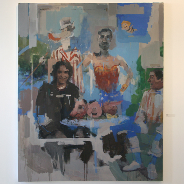 Alvaro Valls - Titel Onbekend - Olieverf op canvas