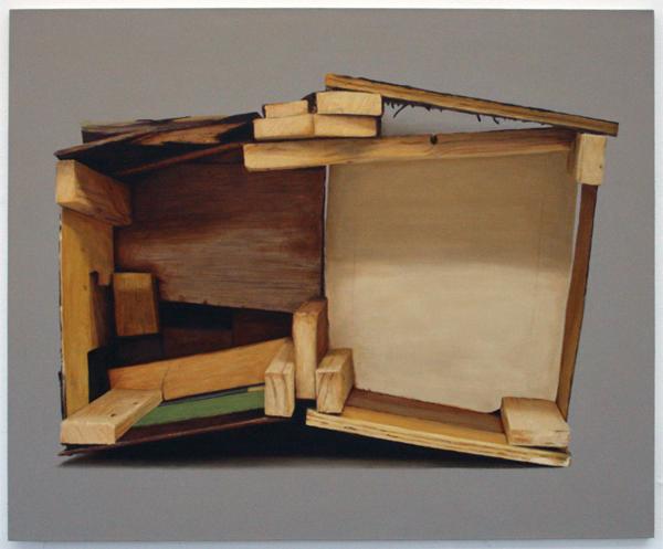 Andre Roiter - Open Theater - 145x177cm Olieverf op doek