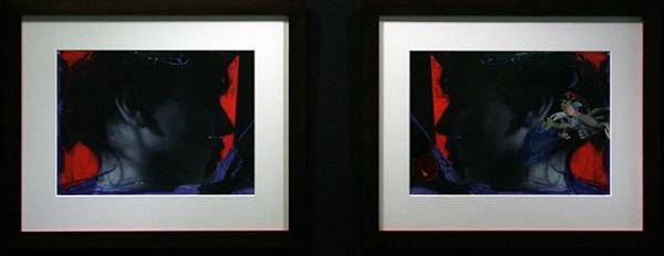 Andro Wekua - Wait to Wait - Digitale prints bewerkt met viltstift en potlood