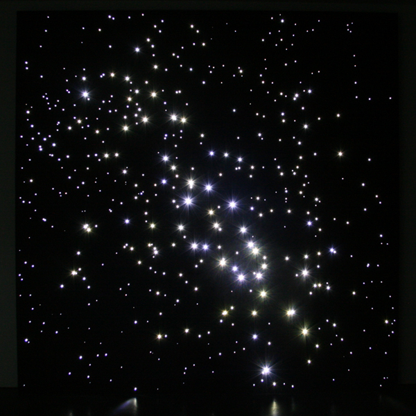 Angela Bulloch - Night Sky - Saturn North from Earth - Led-installatie