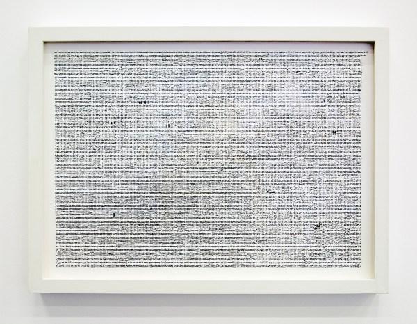 Anita Groener - Lost - 7x60x77cm Caseineverf en collage op papier