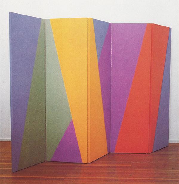 Anna Campbel Bliss - Celebration - Olieverf op canvas op vouwscherm (1985)