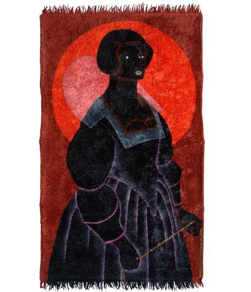 Anne Forest - Nandag - 136x78 cm Acryl op tapijt, 2015