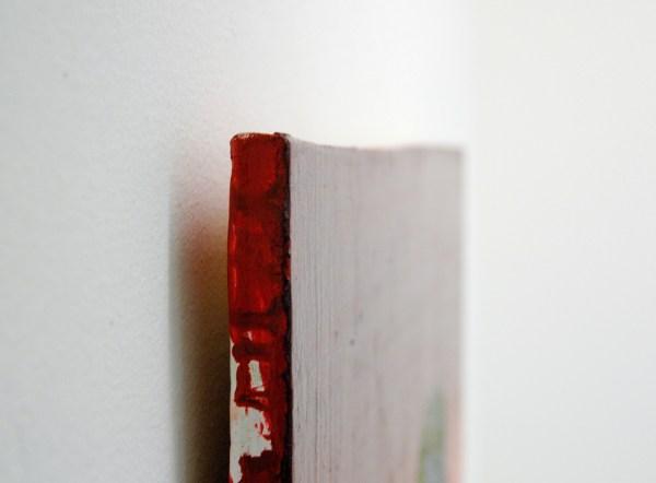 Anne Forest - Paul - 65x54cm Olieverf op hout (detail)