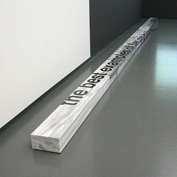 Antonis Pittas - Landart - Marmer en grafietpotlood