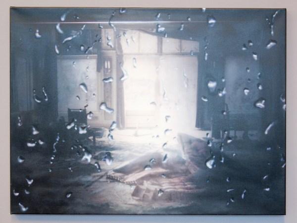 Anya Jansen - Untitled - Olieverf en acrylverf op fotoprint (€1500,-)