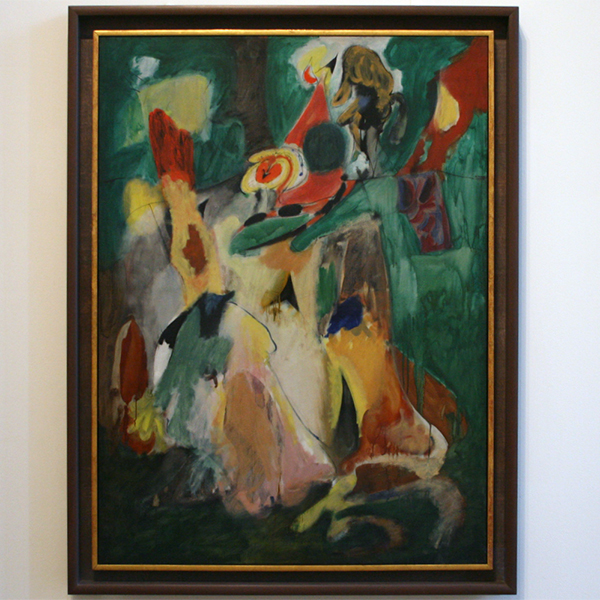 Archile Gorky - Waterfall - Olieverf op canvas