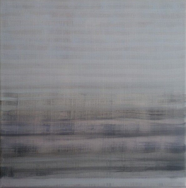 Arjen Geurts - Zonder Titel - 30x30cm Kalk en olieverf op canvas, 2015