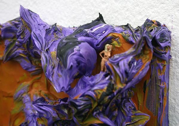 Arno Mertens - Collectors Item After Unexpected Death - Olieverf op doek (detail)