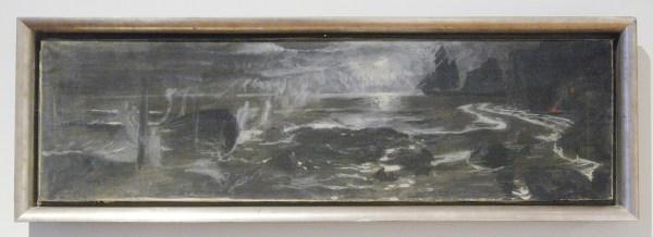 Arnold Bocklin - Vision sur la mer - Olieverf op doek, 1896